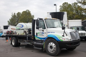 Fleet Clean mobile truck washing