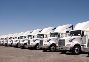 Semi Truck Fleet