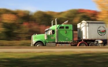 Dec 2017 services green semi truck for truck driver shortage vs retention